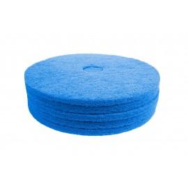 """Floor Machine Pad - Super Clean - 18"""" - (45.7 cm) - Blue - Box of 5 - 66261054245"""