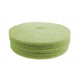 "Floor Machine Pads - for Super Scrub - 18"" (45.7 cm) - Green - Box of 5 - 66261054262"