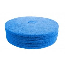 """Tampon pour polisseuse à plancher - pour récurer - 20"""" (50,8 cm) - bleu - boîte de 5 - 66261054247"""