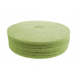 "Floor Machine Pads - for Super Scrub - 20"" (50.8 cm) - Green - Box of 5 - 66261054264"