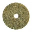 """Floor Machine Pads - for High Speed Burnishing - 20"""" (50.8 cm) - Ultra Grizzly Bear - Box of 5 - 66261057804"""