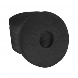 """Floor Machine Pads - for Stripping - 6.5"""" (16.5 cm) - Black - Box of 5 - 66261001833"""
