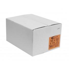 """Sacs à poubelle / ordures commercial - robuste - 56"""" x 60"""" (142,2 cm x 152,4 cm) - noir - boîte de 50"""