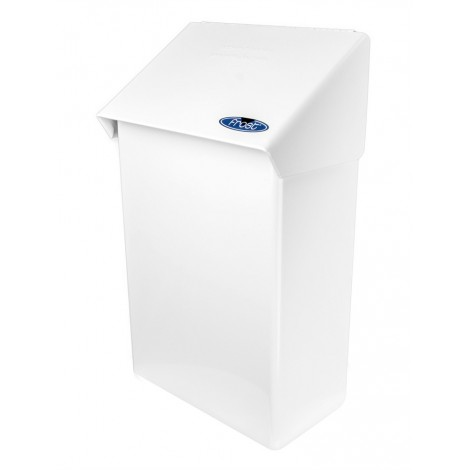 Poubelle pour serviettes sanitaires - fini blanc - Frost