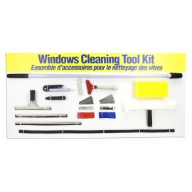 Complete Kit with All the Tools for Window Cleaning - 7 Feet