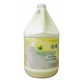 Savon mousse pour mains et corps - sans parfum - 4 L (1,06 gal) - Safeblend HFXX-G04