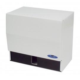 Distributeur de papier à mains - pour rouleau ou pli simple - Frost 101 - blanc