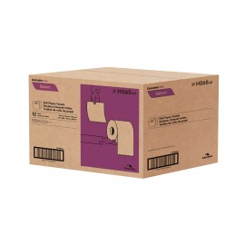 "Paper Hand Towel - 7.8"" (19.8 cm) Width - Roll of 600' (182.9 m) - Box of 12 Rolls - Brown - Cascades Pro H065"