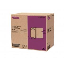 """Essuie-tout pour la cuisine - 2 épaisseurs - 11"""" x 8"""" (27,9 cm x 20,3 cm) - 70 feuilles - boîte de 30 rouleaux - blanc - Cascades Pro K070"""