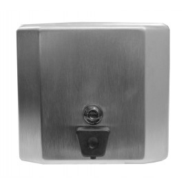 PROFILE SOAP DISPENSER - 1.5 L - FROST - STAINLESS STEEL