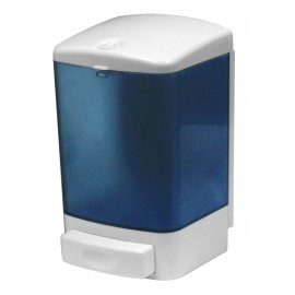 Soap Dispenser - 35.2 oz (1000 ml) - Clear Blue