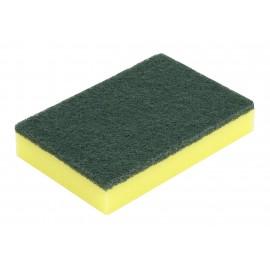 Scouring Sponge 6PK - 4'' X 6'' (10.2 cm x 15.2 cm) - Green and Yellow