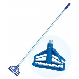 Mop Handle with Quick Click Frame - 5' (1.5 m) - Blue