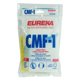 Foam Filter for Eureka Vacuum Style CMF-1 - Pack of 4 Filters - Envirocare 901