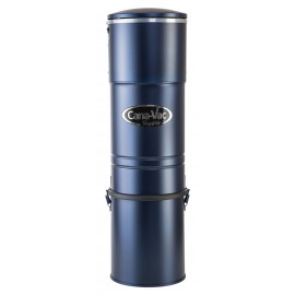 Central Vacuum - Canavac - Signature LS690 - Silent - 566 Airwatts - 5 gal (19 L) Tank Capacity - Wall Mount Bracket - HEPA bag and Filter