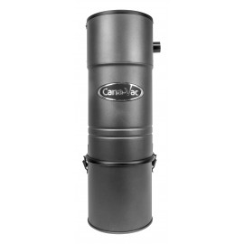 Central Vacuum - Canavac - CV687 - 600 Airwatts - 4 gal (16 L) Tank Capacity - Wall Mount Bracket - Self Cleaning Micro Filter - HEPA Bag