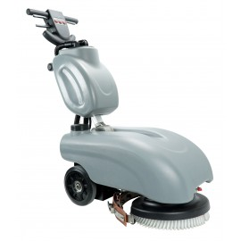 "Floor Machine - 14"" (36.5 cm) Cleaning Path - 30 gal (136 L) Solution and Recovery Tanks - Batteries and Charger Included"