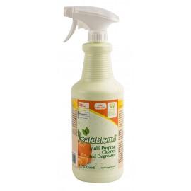 Multi-Purpose Cleaner and Degreaser - Tangerine - 33.4 oz (950 ml) - Safeblend CRTO-X12