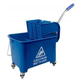 Side Press Wringer Bucket Combo - 5 gal (21 L) - Blue
