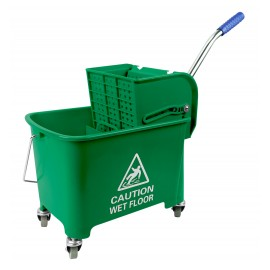 Side Press Wringer Bucket Combo - 4.6 gal (21 L) - Green