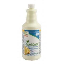 Nettoyant crème senteur de citron - Prêt à utiliser - 950 ml - Safeblend