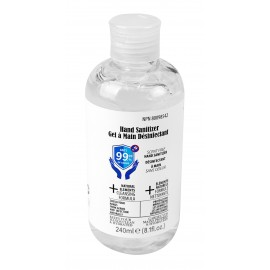 Hand Sanitizer 240 ml - Scent Free - For use against coronavirus (COVID-19)
