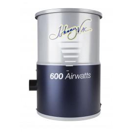 Aspirateur central Johnny Vac - JV600C - compact - 600 watts-air - capacité de 3 gal (12 L) - sac HEPA - filtre mousse