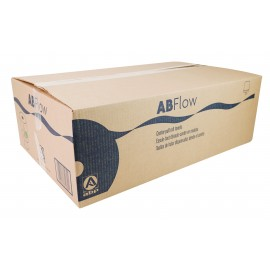 Paper Hand Towels - Centerpull - 2-Ply - 10 x 7.8 in (25.4 cm x 19.8 cm) - Box of 6 Rolls - White - ABP CP6814LB2