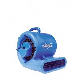 """Ventilateur de plancher / souffleur- Johnny Vac - diamètre du ventilateur 9,5"""" (24 cm) - 3 vitesses - avec poignée - bleu - Usagé"""