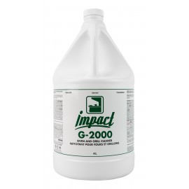 Nettoyant pour fours et grilloirs - concentré - 1,06 gal (4 L) - Impact G-2000 - G200-GW4