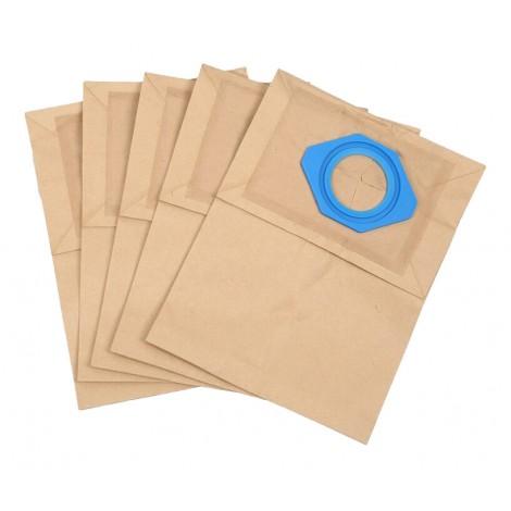 Sac en papier pour aspirateur Nilfisk GS80 90 - paquet de 5 sacs