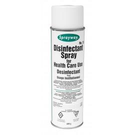 Désinfectant en aérosol - 15,5 oz (439 g) - Sprayway SW015DIN - Produit à utiliser contre le coronavirus (Covid-19)