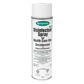 Spray Disinfectant - 15.5 oz (439 g) - Sprayway SW015DIN - Product for use against coronavirus (Covid-19)