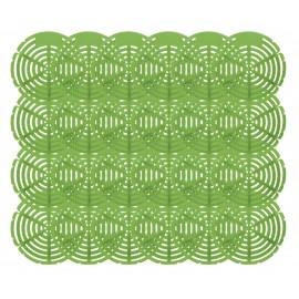Tamis d'urinoir - fragrance citron vert - Wiese ETAST192 - paquet de 24