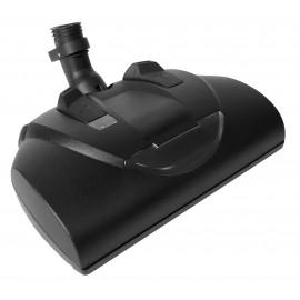 """Balai électrique - largeur (14"""") - hauteur ajustable - déclenchement rapide - noir - courroie dentelée - lumière frontale - rouleau-brosse en plastique - Wessel-Werk 10.09 044-309 - EBK360"""