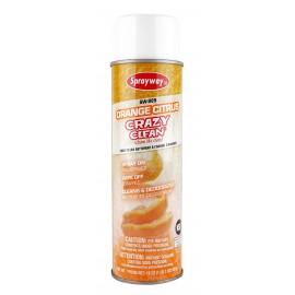 Nettoyant Crazy Clean de Sprayway - 19 oz (539g) - arôme d'orange - SW-985