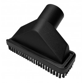 """Upholstery Brush - 1 3/8"""" (35 mm) - for Johnny Vac Silenzio - Miele - Canister Vacuum - Black"""