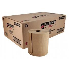 "Paper Hand Towel - 7.8"" (20 cm) Width - Roll of 800' (243.8 m) - Box of 6 Rolls - Brown - SUN800K"