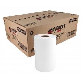 Papier essuie-mains - 8'' x 300' - boîte de 12 rouleaux - blanc - SUN300W