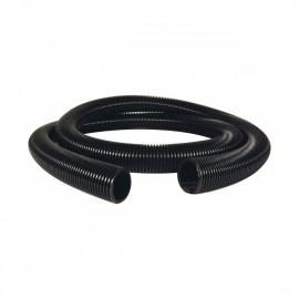 """Boyau pour aspirateur central - 6 m (20') - 38 mm (1 ½"""") dia - noir - anti-écrasement - haute qualité"""