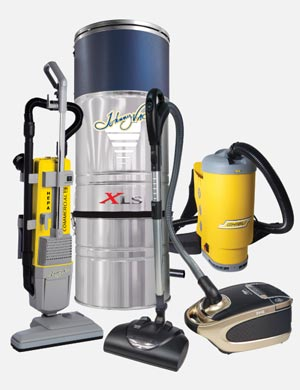 Vacuums & More section.