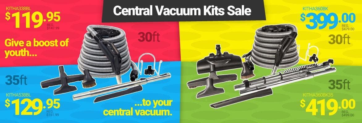 Save Big on Central Vacuum Kits!