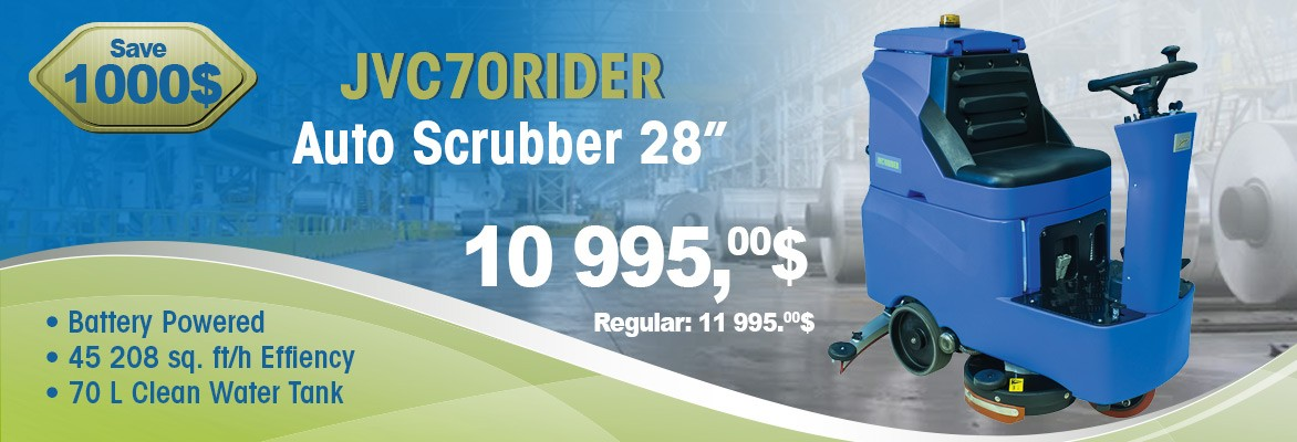 JVC70RIDER Autoscrubber