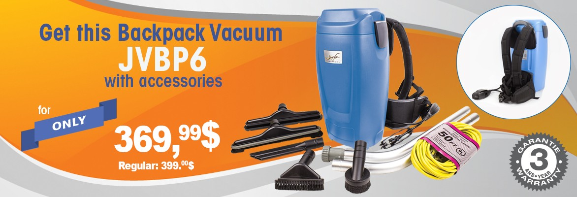 JVBP6 Backpack Vacuum