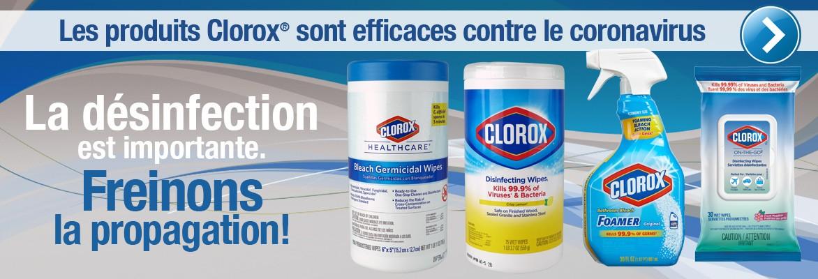 Produits CLOROX