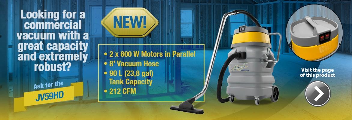 JV59HD Wet & Dry Commercial Vacuum