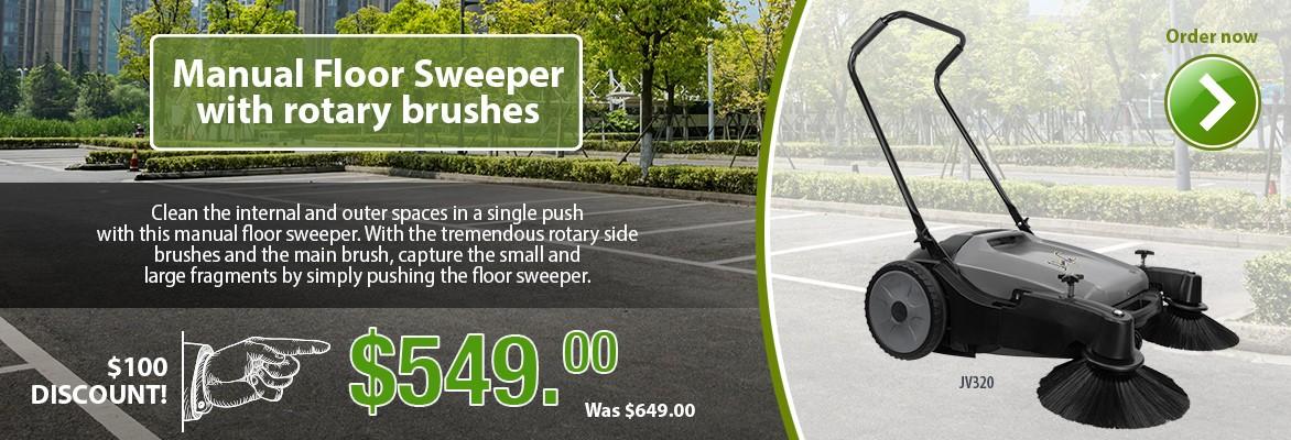 Manual Floor Carpet Sweeper