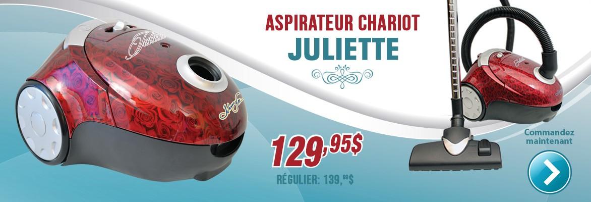 Aspirateur chariot Juliette